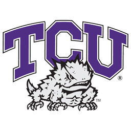 Logo for Texas Christian Horned Frogs